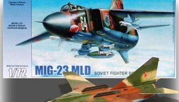 Maketa aviona avion MiG-23