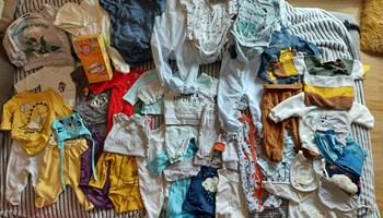 Lot odjeće za bebe dječake 0-6 mj