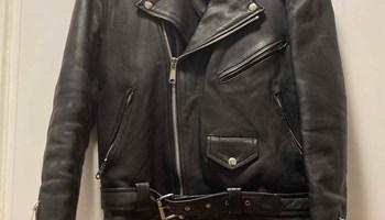 Jarvis Bond Leather Jacket / klasična rokerica / ženska kožna jakna