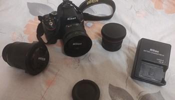 Nikon d5200 + objektivi