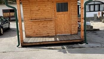 Drvena kućica 3x4 PRILIKA