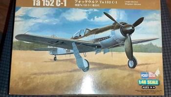 Maketa aviona avion Focke Wulf Ta 152 C-1 1/48 1:48