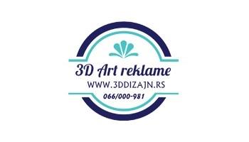 IZRADA 3D REKLAME OD STIRODURA I PLEKSIGLASA