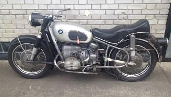 BMW R 60 ,1957 trokutas