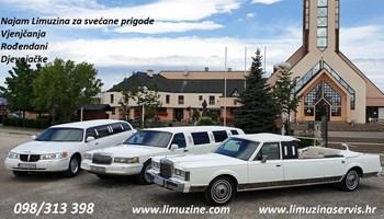 Najam limuzina za vjenčanja, djevojačke i ostale svečane prigode