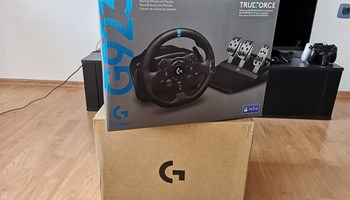 Logitech G923 novo zapakirano