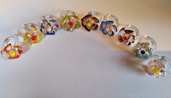 prsteni - Murano Glass
