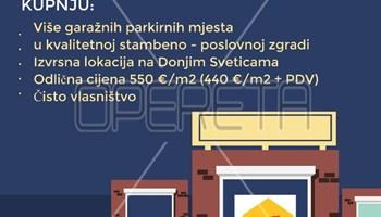 Prodaja, Garaža, Donje Svetice, 13m2