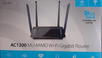Brzi WiFi router sa garancijom - D-LINK Wireless AC1200 Wi-Fi Router DIR-842V2/E