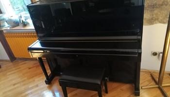 Pianino AUGUST FÖRSTER + klavirska klupica