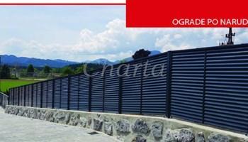 Ograde i ogradna vrata - proizvodnja i montaža
