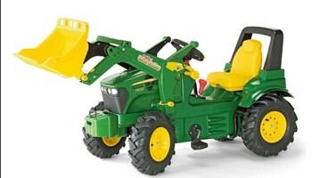 John Deere, dječji traktor i prikolica,Rolly Toys, KAO NOVO !!!!