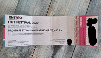 Ulaznica Exit festival 2021