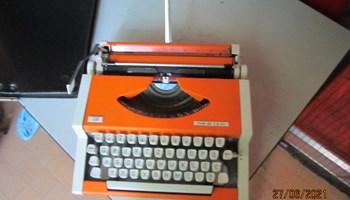 Portabl pisaći stroj, Unis tbm de Luxe, s koferom