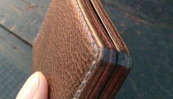 Mini novčanik od prirodne kože