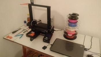 3D printer Ender 3 w2