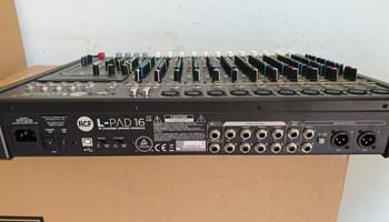 RCF L-PAD 16CX USB 16-kanalni mikser s efektima
