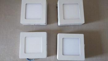 LED nadgradni panel SP-D002S, 6W, 4000K - NOVO! (4 komada)