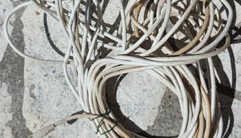 Mrežni kabel Cat 6, 15 m, s RJ45 konektorima, bijeli; ZG (Jarun)