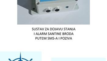 ALARM SANTINE / ALARM KALJUŽE / NADZOR I KONTROLA