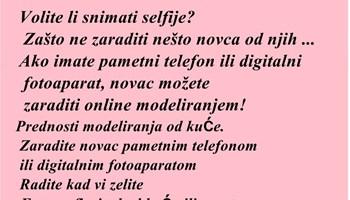 Selfie model-content creator