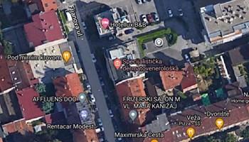 Parkirno mjesto Kvatrić - Fijanova ulica