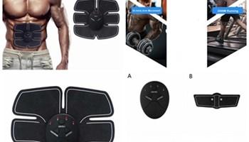 Stimulatori trbušnih mišića, bicepsa, kvadricepsa, masažer, novo!