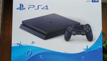 Sony Playstation 4 PS4 tanka igračka konzola od 1 TB crna, potpuno zapečaćena