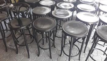 barske drvene stolice///šankerske stolice 21 kom