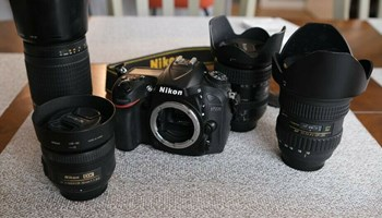 Nikon D7200 DSLR, 4 Lenses (+17087136572)