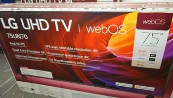 LG 75 Class UN7070 Series LED 4K UHD Smart webOS TV