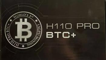 Asrock H110 Pro Btc + - 13 Gpu Rudarstvo kriptovaluta