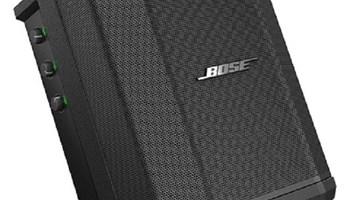HOT SALES NEW Boses S1 Pro PA System w Speaker Stand & Play-Through Cover - Bo Nue Black (+447448138107)