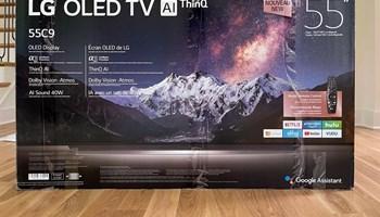 """LG OLED55C9PUA 55\"""" OLED 4K Smart TV with WiSA WebOS (+17087136572)"""