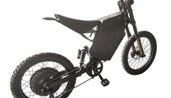 Electric Dirt Bike Full Suspension E- Bike 8000w S tealth Bom ber Enduro Ebike Ele (+17087136572)