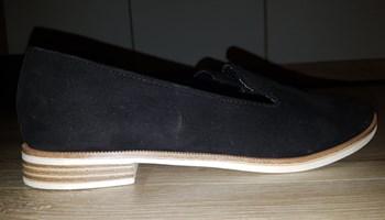 Graceland elegantne cipele s niskom petom, crne , br.36,kao nove !
