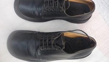 Harley Davidson , crne kožne cipele,broj 43.5-44