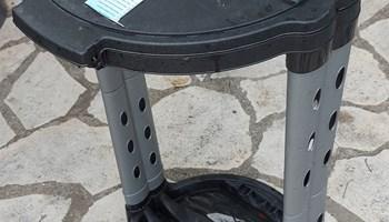Stalak/držač za vreće za smeće s poklopcem; Bribir