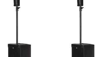 rcf evox j8 pair pa speaker package