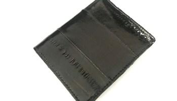 Muški novčanik od jeguljine kože