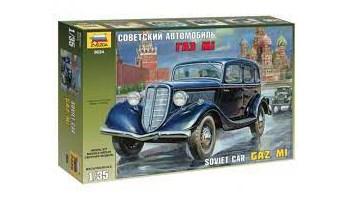 Maketa automobila automobil Gaz M1 Soviet Car 1/35 1:35