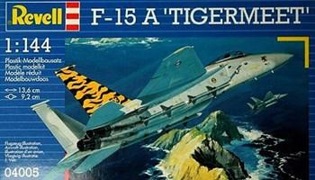 """Maketa aviona avion F-15 A \""""TIGERMEET\"""" 1/144 1:144"""