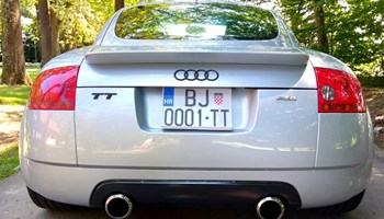 Audi TT 1.8T QUATTRO 275KS REVO, OZ SUPERLEGGERA, GEWINDE, AMERIKANAC