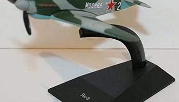 Metalni gotovi model maketa Jak-9 Yakovlev Yak-9 Diecast DeAgostini