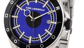 Karl Lagerfeld silver sat