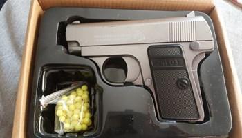 Metal/plastika airsoft pištolj