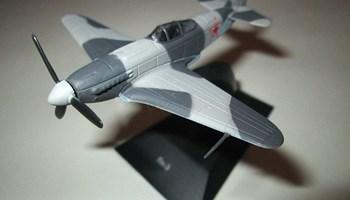 Metalni gotovi model maketa Jak-3 Yakovlev Yak-3 Diecast DeAgostini