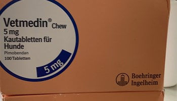 Vetmedin tablete 2.5mg/5mg/10mg