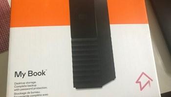 Prodajem 2x 2300/kom - Vanjski tvrdi disk Western Digital My Book™ 12TB