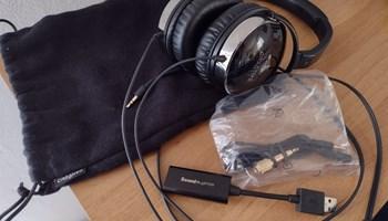 Creative Aurvana Live + USB zvučna kartica